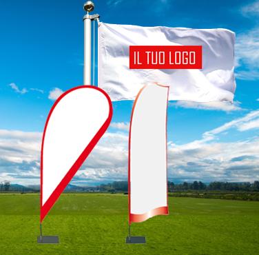 bandiere personalizzate